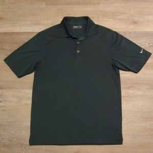 Nike Golf Men's Green FitDry Shirt